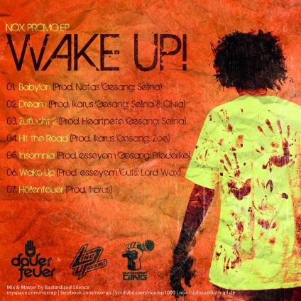 Wake Up EP (Back)